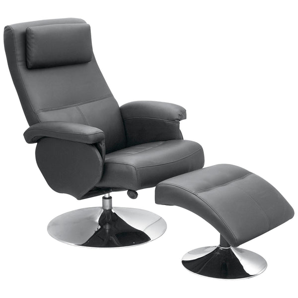 PU & PVC Leather Recliner Chair