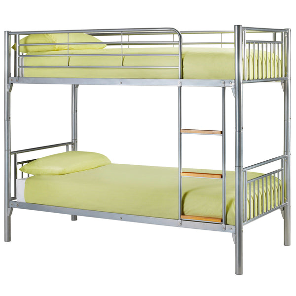 Aluminium Metal Finish Bunk Bed