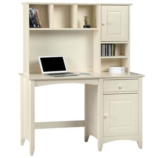 Stone White Lacquered Finish Desk
