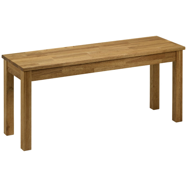 Solid American White Oak Bench