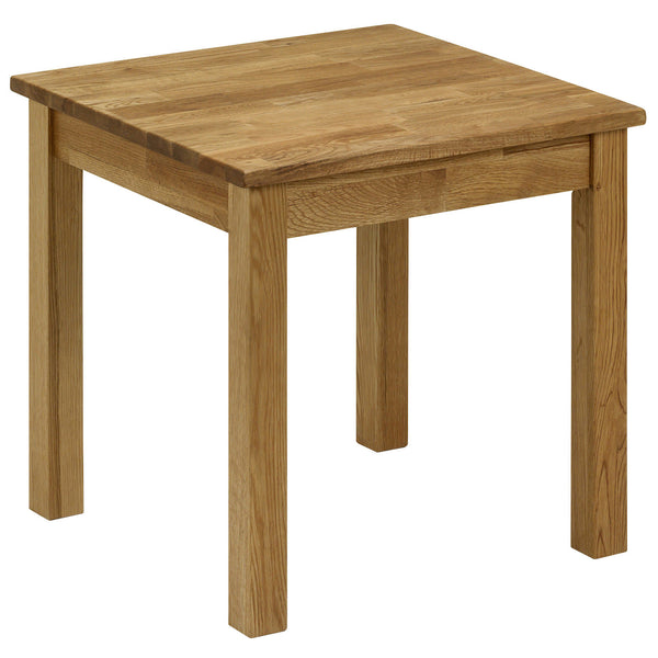Solid American White Oak Side Table