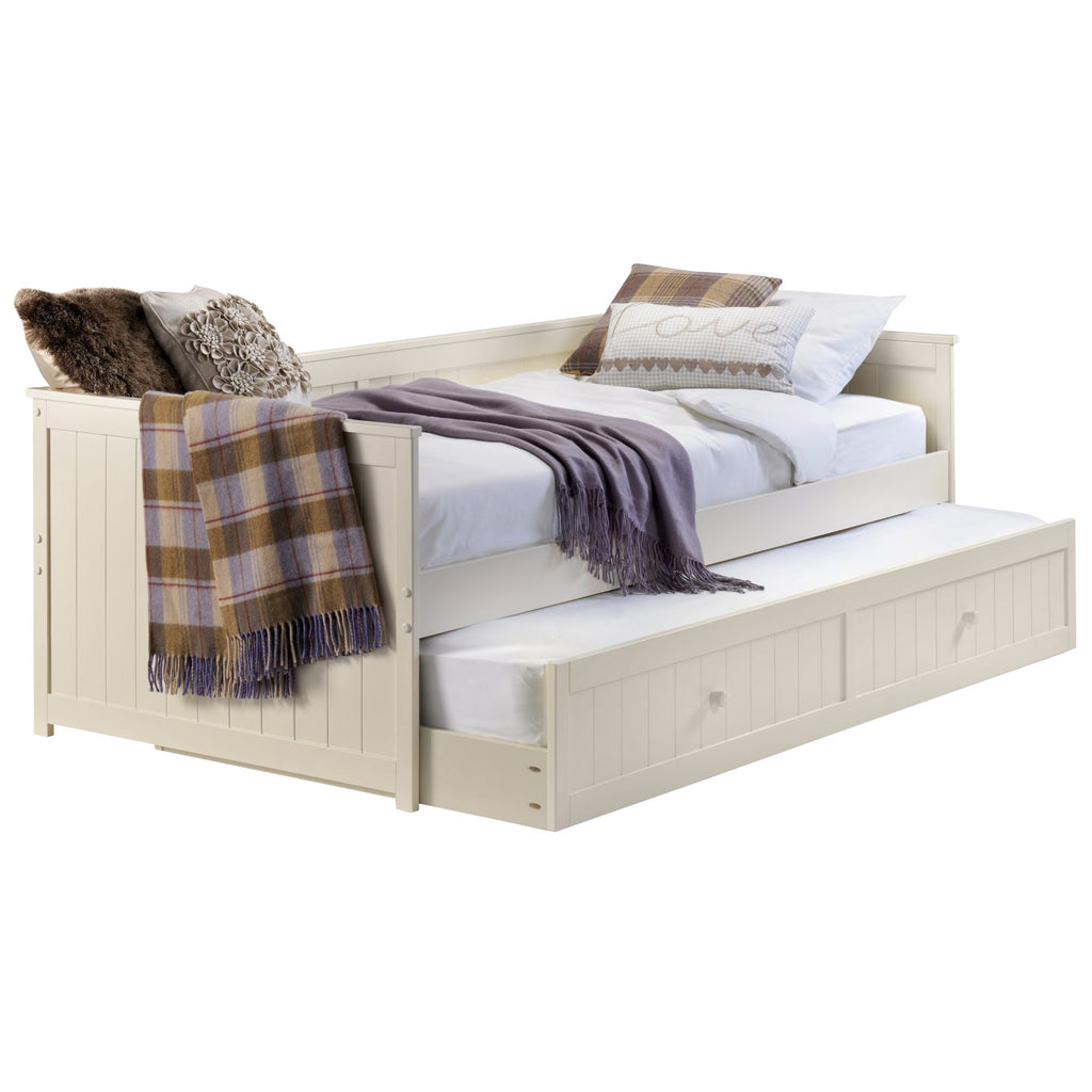Stone White Finish Day Bed