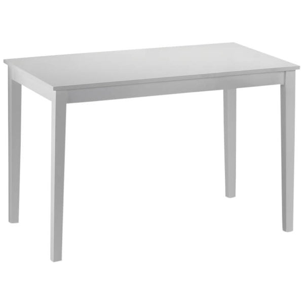 White Painted Finish Dining Table