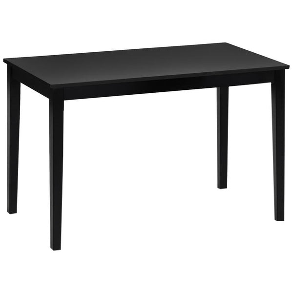 Black Painted Finish Dining Table