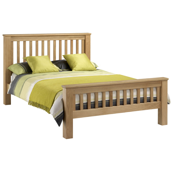Solid Oak & Veneer Bed Frame