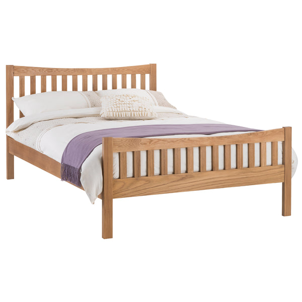 Solid American White Oak Bed Frame