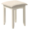 Stone White Lacquered Finish Dressing Table & Stool