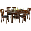 Mahogany Finish Extending Dining Set