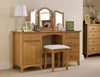 Solid Pine Dressing Table & Stool