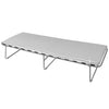 Aluminium Metal Finish Folding Guest Bed