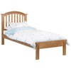 Oak Finish Bed Frame