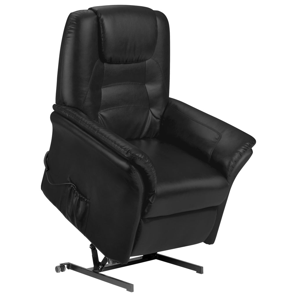 Soft Touch Faux Leather Rise & Recliner Chair