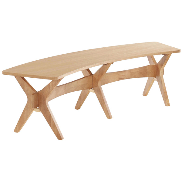 Solid White Oak Bench