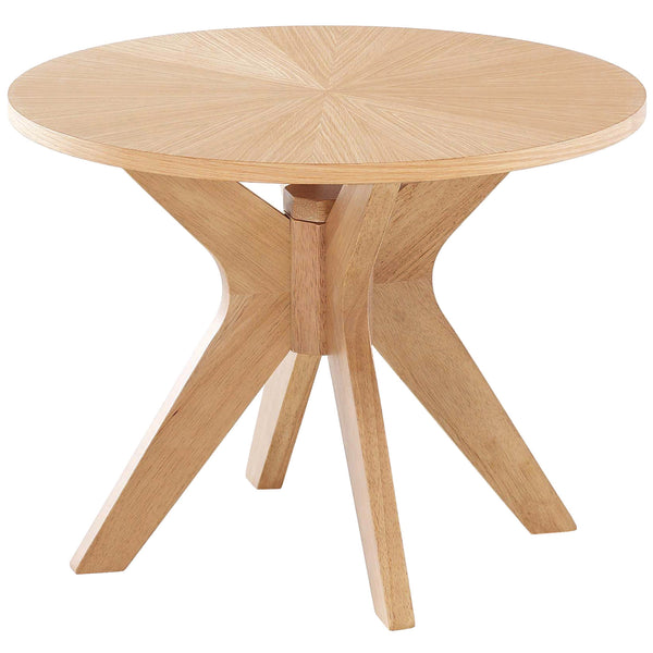 Solid White Oak Side Table