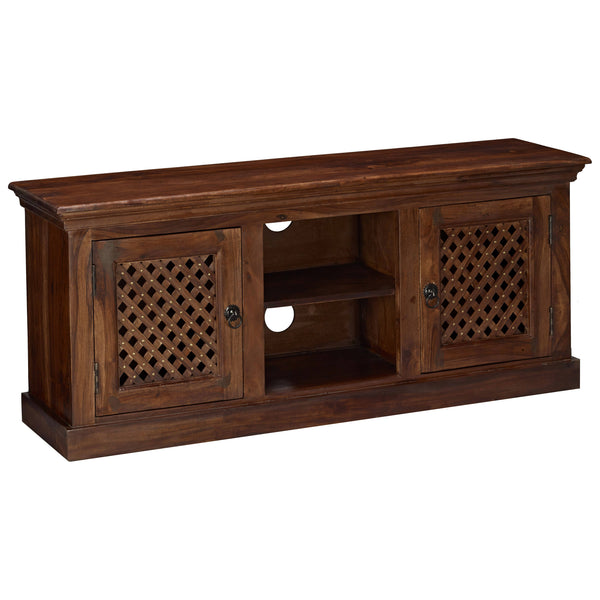 Solid Sheesham Wood TV Unit