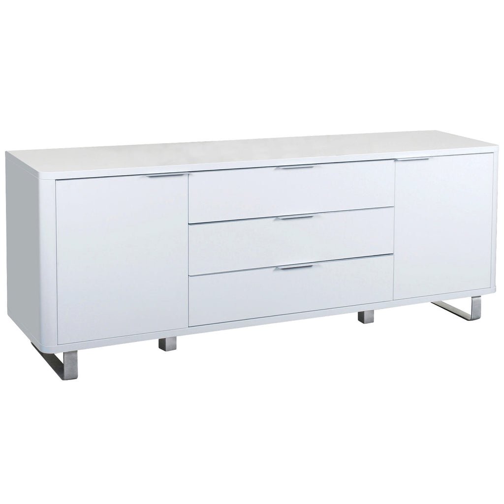 High Gloss Finish Sideboard