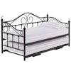 Painted Finish Metal Day Bed Frame