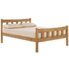 Aztec Wax Finish Pine Bed Frame