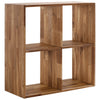 Solid Oak Display Shelving