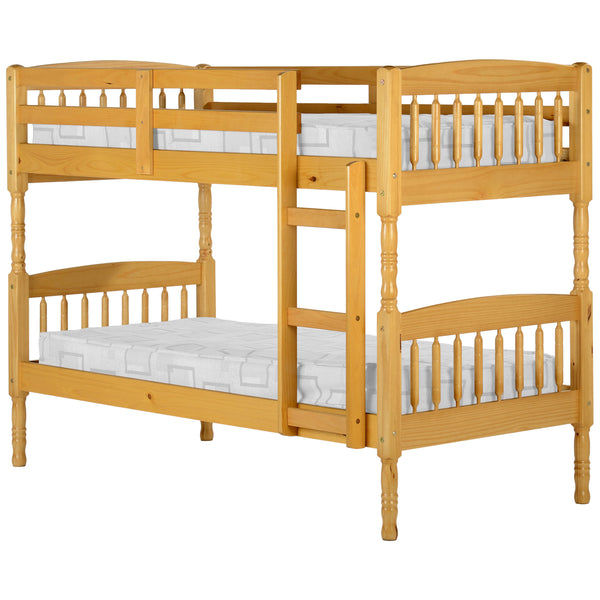 Antique Pine Finish Bunk Bed