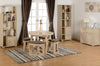 Sonoma Oak Effect Veneer Stowaway Dining Set