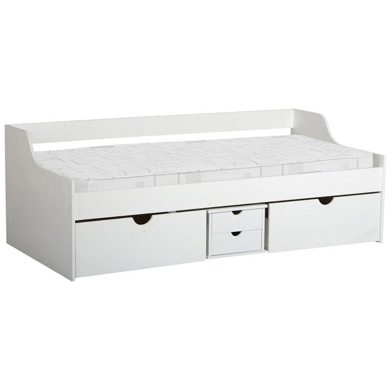White Finish Day Bed
