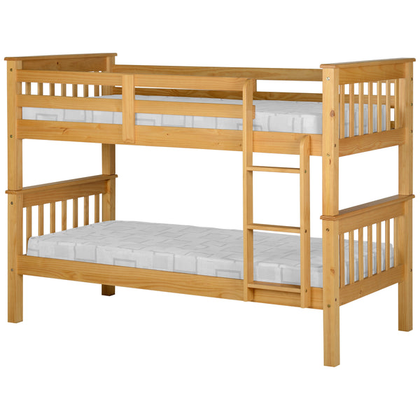 Oak Finish Bunk Bed