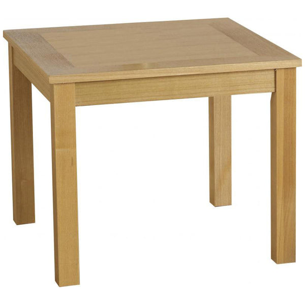 Natural Oak Veneer Side Table