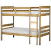 Natural Wax Finish Bunk Bed