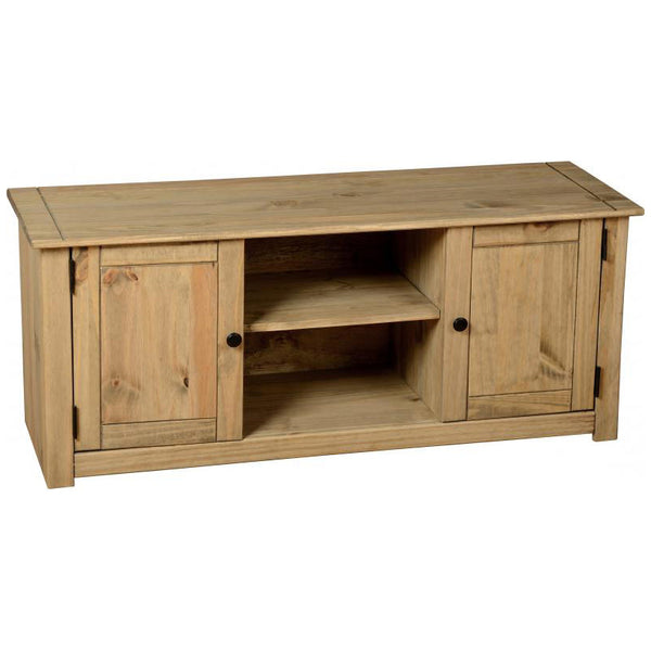 Natural Wax Finish TV Unit