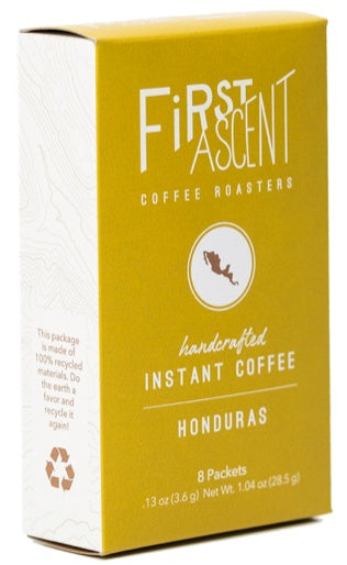 Honduras Instant Coffee - Box of 8 Packets