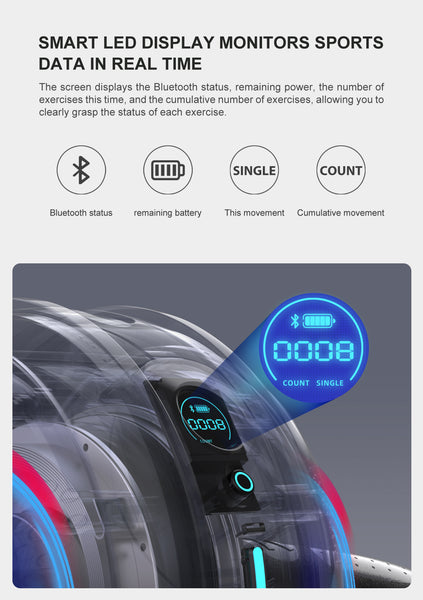 Ab Roller Pro with Smart Display