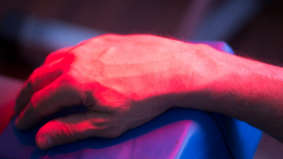 red light therapy for sore muscles