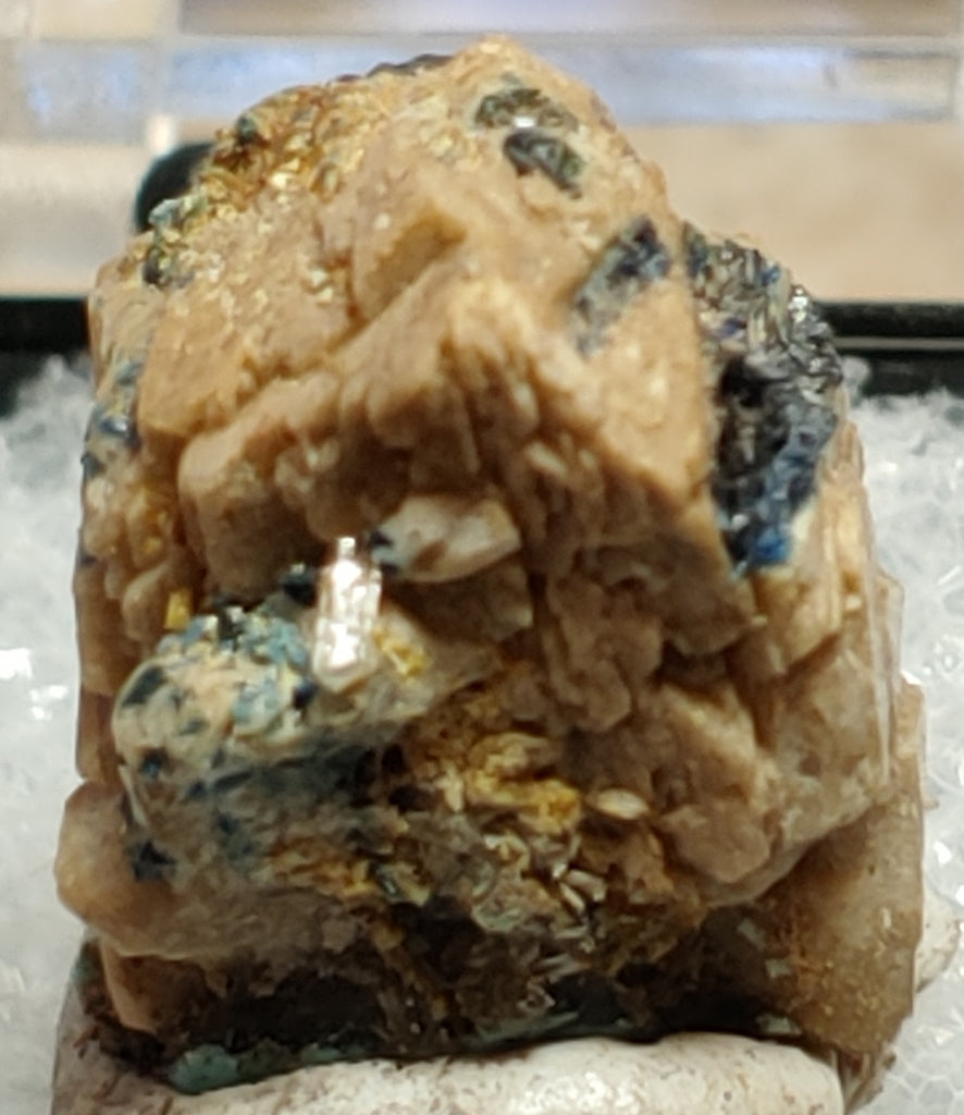 Whiteite and Lazulite from Rapid Creek, Yukon, Canada. #4040