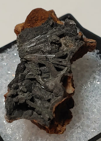 Vivianite from Kerch, Crimea, Russia. 2.9 cm #4054