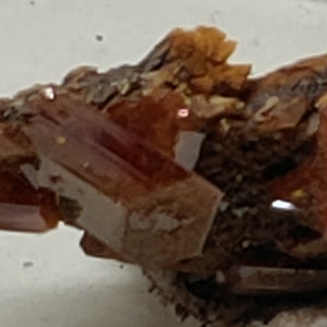 Wulfenite from Red Cloud Mine, Arizona. Stock 1.4 cm #5220