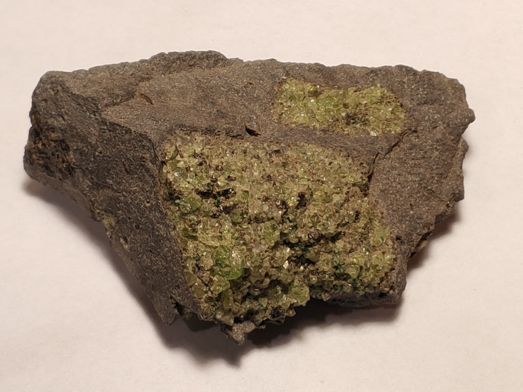Peridot from San Carlos Reservation, Arizona. 8 cm #331