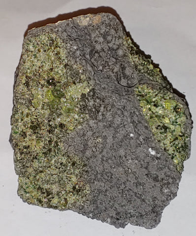 Peridot from San Carlos Reservation, Arizona. 8.6 cm #337
