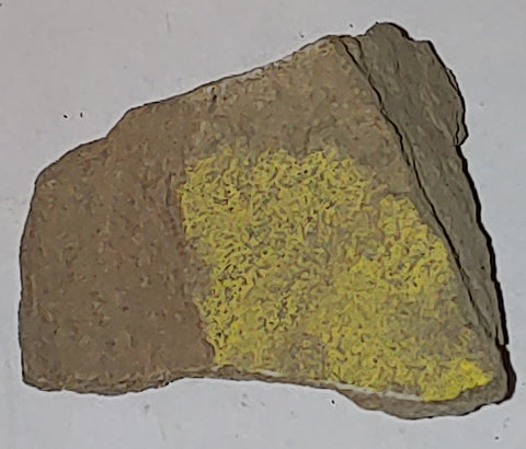 Bayleyite from Poison Strip, Yellow Cat, Grand County, Utah. 4.7 cm #8086