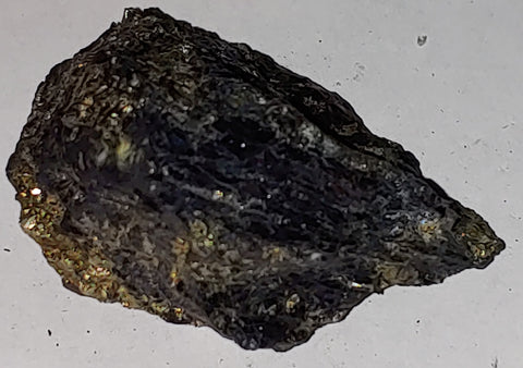 Covellite from Leonard Mine, Butte, Montana. 6 cm #4000