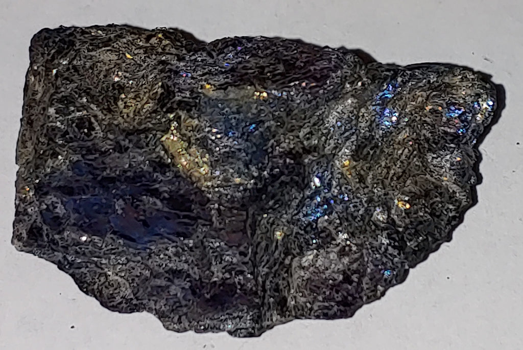 Covellite from Leonard Mine, Butte, Montana. 5.4 cm #3001