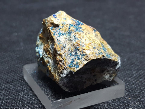 Clinoclase, Cornubite, Olivenite. Stock #4100sl