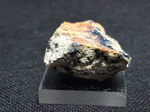 Clinoclase, Cornubite, Olivenite. Stock #4108sl