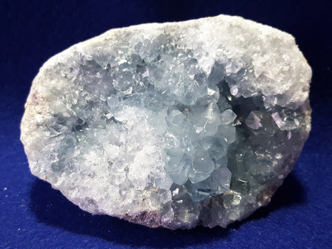 Celestite, Madagascar. Stock #0001sl