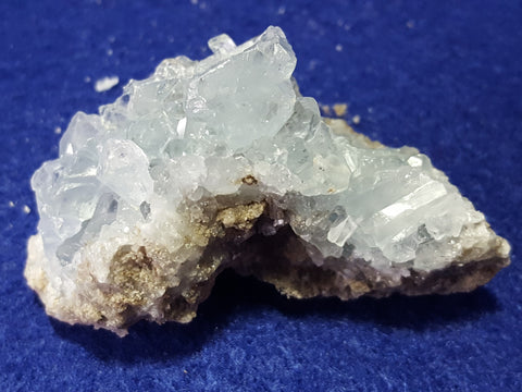 Celestite, Madagascar. Stock #0007sl
