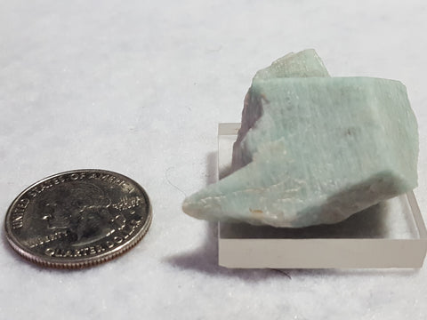Amazonite, Crystal Peak, Teller County, Colorado. Stock #8107sl