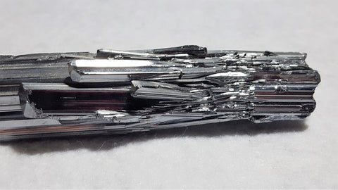 Stibnite, Quinglong Mine, Guizhou Province, China. Stock #104sl