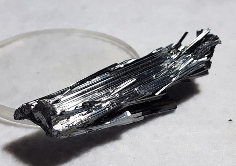Stibnite, Quinglong Mine, Guizhou Province, China. Stock #105sl