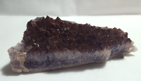 Amethyst with Hematite Inclusion, Thunder Bay, Ontario. Stock#18006sl