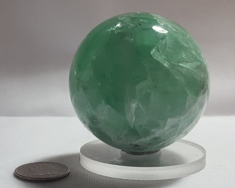 Fluorite Sphere from Mexico. Stock #6000sl